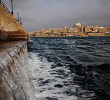 Valletta view by narabia
