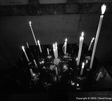 Candles in Paris by David Songco