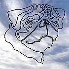 Pug Dog by Philip Mitchell Graham