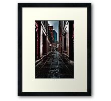 Brisbane is Empty Framed Print