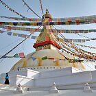 Stupa Stroll by Rene Edde