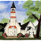 Church of the Redeemer, Rousseau, Ontario by Baye Hunter