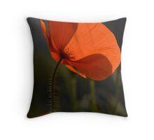 Poppies 2 Throw Pillow