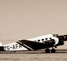 Ju-52 by Paul Lindenberg