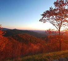 Shenandoah Autumn Sunrise by Stephen Vecchiotti