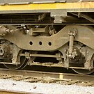 Trains - Locomotive Wheel Detail by Buckwhite