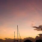 Antigua Sunset by Karen Millard