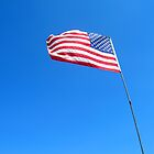 American flag by Jacker