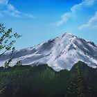 Mount Rainier WA USA- Painting by Dennis Knecht
