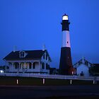 Tybee Light At First Light by ericb