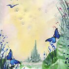 Flutterby Trail by Sally Rhymes