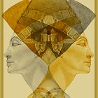 Egyptian series -Nefertiti reigns suprem  by Marilyns