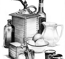 Still Life by Margaret Harris by Margaret Harris