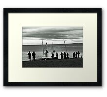 Launch Day Framed Print