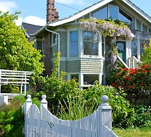 Cottage Charmer in Oak Bay by Carol Clifford