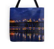 Blue Hour at Huntington Beach Pier~Surf City, USA! Tote Bag