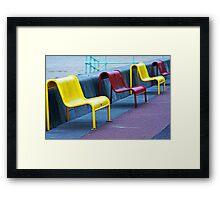 Sit in the Sunshine Framed Print