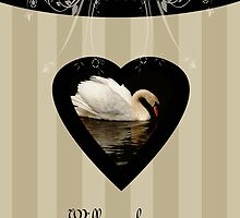 Will you be my bridesmaid, cousin, beige, cream, swan by Moonlake