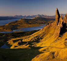 Sunrise at Old Man of Storr, Isle of Skye by Thomas Peter