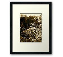 The Gingerbread Cottage Framed Print