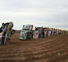 Cadillac Ranch by Ray Thacker