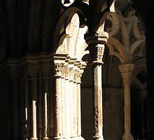 The cloister by Hélène David-Cuny