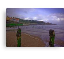 Sandsend Beach Canvas Print