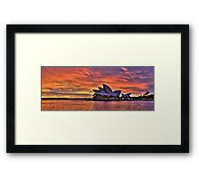 Greeting The Morn- The Photographers Cut  - Moods Of A City - The HDR Series Framed Print