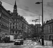 Side Street, Vienna, Austria by daynov