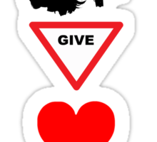 You Give Love A Bad Name Sticker