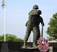 Hudson County Korean War Veterans Memorial by pmarella