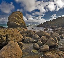 Moss Street Lauguna Beach by photosbyflood