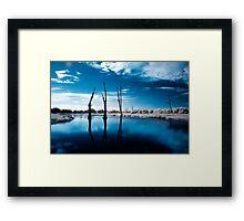 Edge Of The World Framed Print