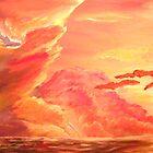 Ocean Sunrise #1 by Arobi01