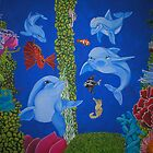 Dolphins of the Emerald Reef by Arobi01
