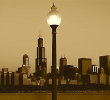 CHICAGO SUNRISE by Scott  d'Almeida