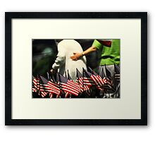 Memorial Day Framed Print