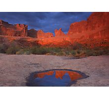 Arches Sunrise Photographic Print