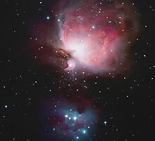 The Orion Nebula by B A Kingsley by BAKINGSLEY