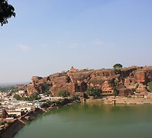 At Badami, Karnataka by Indrani Ghose