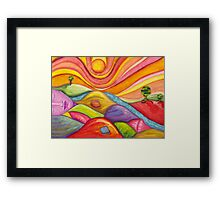 Peace In Pieces Framed Print