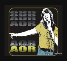 STEVE PERRY - 'THE VOICE OF AOR' T-Shirt