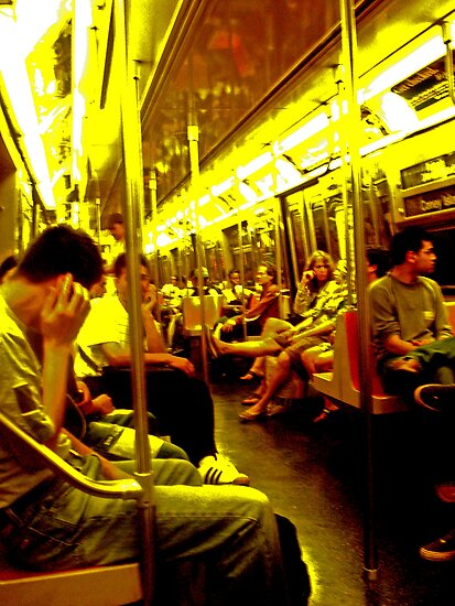 On the Subway 2 by lroof