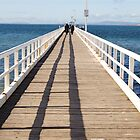 Pt Lonsdale Pier by Leanne Nelson