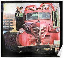 Red Fargo Poster
