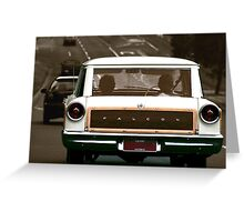 Sunday Driver Greeting Card