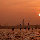 Sunset Over Venice by Judson Joyce