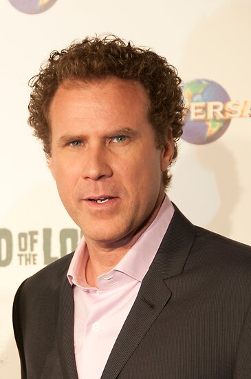 Will Ferrell by David Petranker