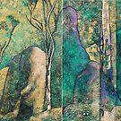 """Eucalypt Forest""  (diptych) by Karyn Fendley"