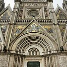 Facade of the Orvieto Duomo by Harry Oldmeadow